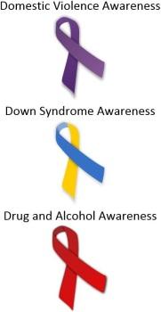 Awareness Ribbons 2