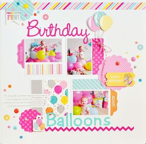 Birthday Page