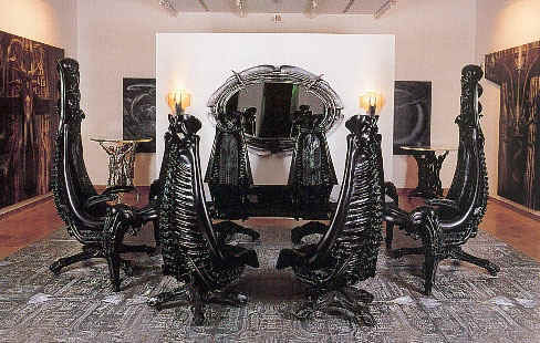 The H.R. Giger Environment