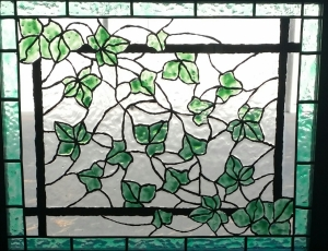 Ivy Painted Glass