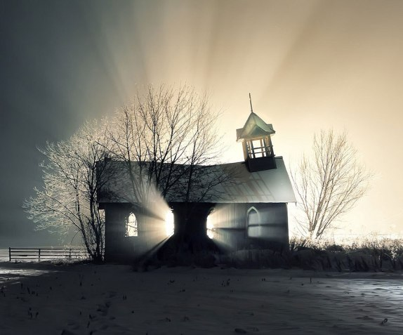 Abandoned Church, Canada
