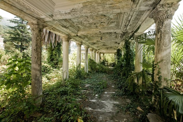 Abandoned Train Station, Abkhazia