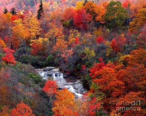Blue Ridge Mountains Autumn