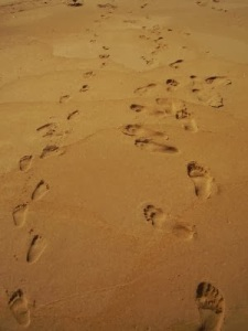 Dancing Footprints