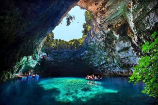 Melissani Caves, Greece
