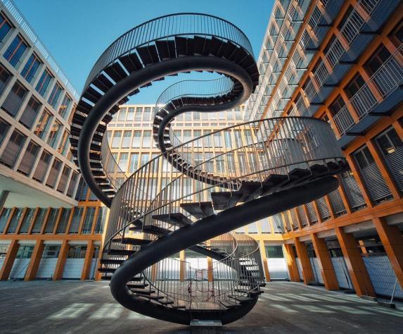 Olafur Eliasson Staircase, Munich