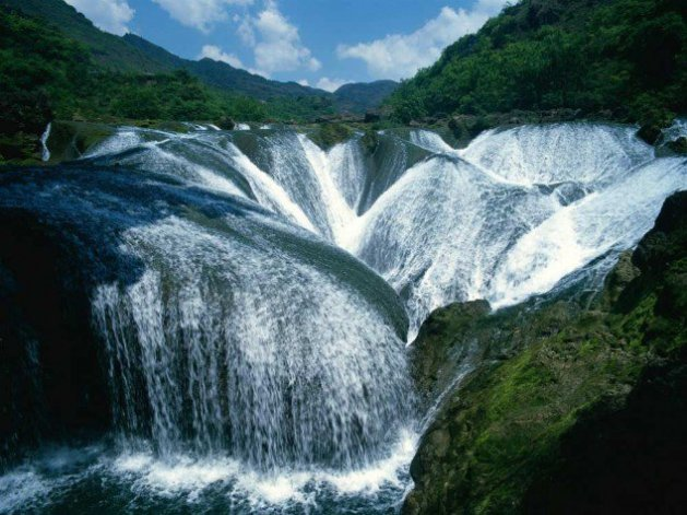 Pearl Waterfall, China