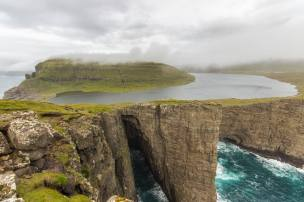 Sørvágsvatn Lake, Faroe Islands