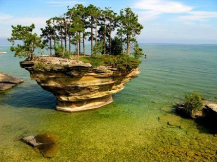 Turnip Rock, Michigan